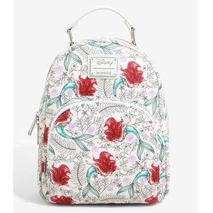 The Little Mermaid Loungefly Disney Mini Backpack